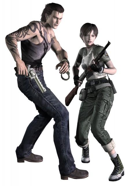 Capcom, Resident Evil Zero, Rebecca Chambers, Billy Coen