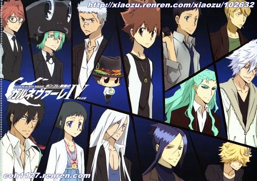 Akira Amano, Artland, Katekyo Hitman Reborn!, Tsunayoshi Sawada, Spanner