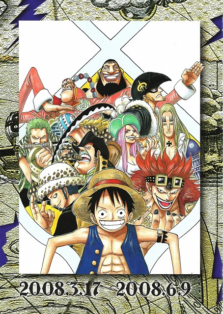 Eiichiro Oda, One Piece, Color Walk 6 - Gorilla, Eustass Kid, Scratchmen Apoo