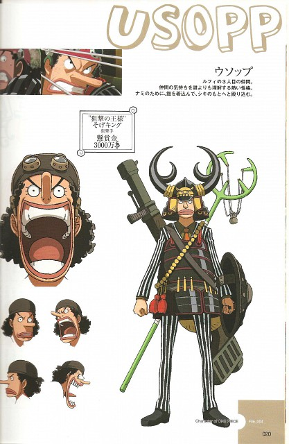 Eiichiro Oda, Toei Animation, One Piece, Usopp