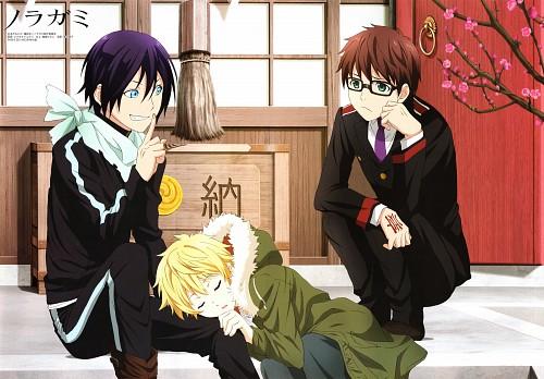 Toka Adachi, BONES, Noragami, Yato (Noragami), Kazuma (Noragami)