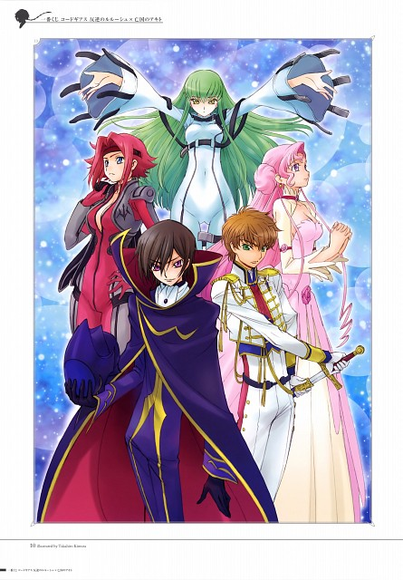Takahiro Kimura, Sunrise (Studio), Lelouch of the Rebellion, Lelouch Lamperouge, Euphemia Li Britannia