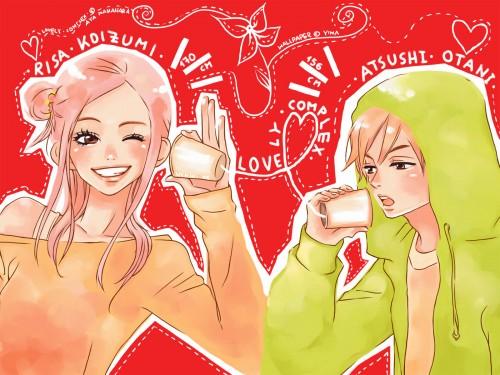 Aya Nakahara, Toei Animation, Lovely Complex, Atsushi Otani, Risa Koizumi Wallpaper