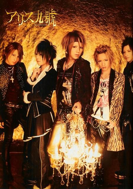 Tora, Shou, Hiroto, Saga (J-Pop Idol), Alice Nine