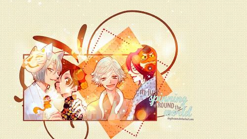 Julietta Suzuki, TMS Entertainment, Kamisama Hajimemashita, Shinjirou Kurama, Mizuki (Kamisama Hajimemashita) Wallpaper