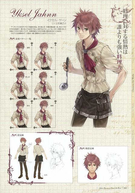Mel Kishida, Gust, Atelier Totori, Yksel Jahnn, Character Sheet
