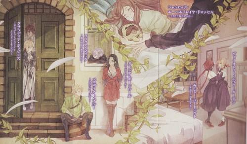 Akiko Takase, Kyoto Animation, Violet Evergarden, Cattleya Baudelaire, Claudia Hodgins