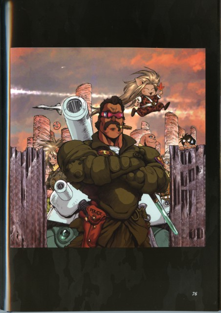 Masamune Shirow, Dominion Tank Police, Pieces 1, Jim E. Lovelock, Leona Ozaki