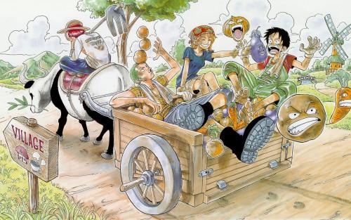 Eiichiro Oda, One Piece, Color Walk 1, Nami, Roronoa Zoro