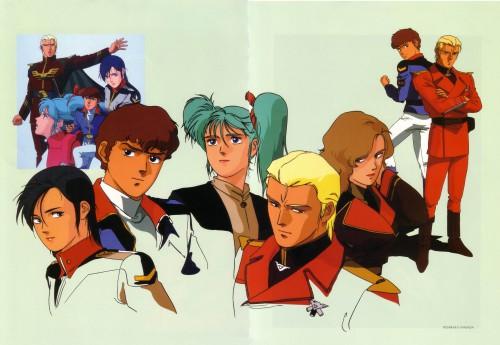 Kisaraka Yamada, Mobile Suit Gundam Char's Counterattack, Mobile Suit Gundam - Universal Century, Chan Agi, Quess Paraya