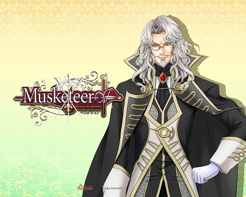 Takashi Kiriya, Idea Factory, Musketeer: Le Sang Des Chevaliers, Richelieu, Official Wallpaper