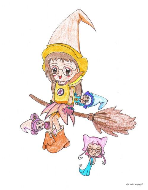 Toei Animation, Ojamajo DoReMi, Hazuki Fujiwara, Rere (Ojamajo DoReMi), Aiko Senoo
