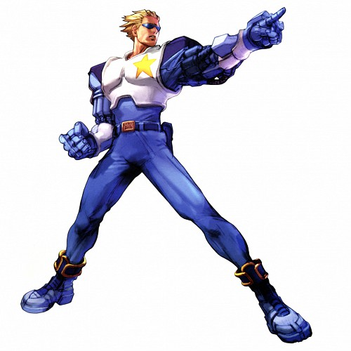 Capcom, Namco, Namco x Capcom, Captain Commando