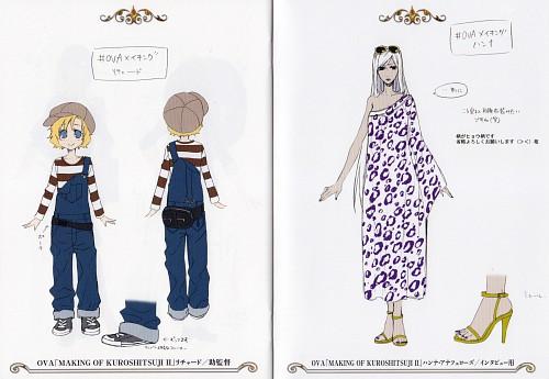 Yana Toboso, Kuroshitsuji, Richard of Shrewsbury, Hannah Annafellows, Character Sheet