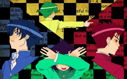Yui Haga, Silver Link, Baka to Test to Shoukanjuu, Akihisa Yoshii, Kouta Tsuchiya Wallpaper