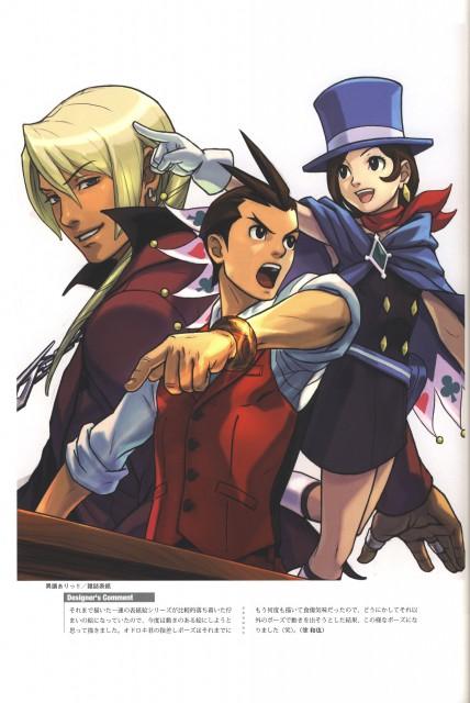 Capcom, Ace Attorney, Art of Gyakuten Saiban - Odoroki, Trucy Wright, Apollo Justice