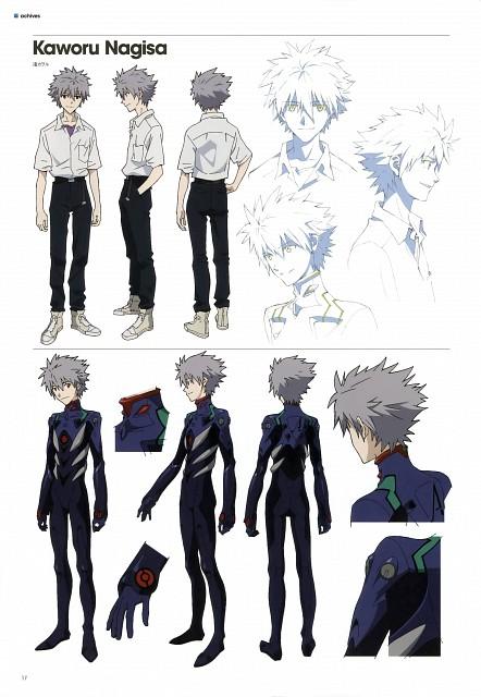 Gainax, Khara, Neon Genesis Evangelion, Evangelion 3.0 Theatrical Booklet, Kaworu Nagisa