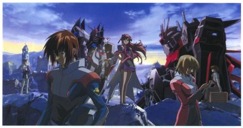 Sunrise (Studio), Mobile Suit Gundam SEED Destiny, Arnold Neumann, Kira Yamato, Andrew Waltfeld