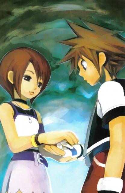 Shiro Amano, Square Enix, Art Works Kingdom Hearts, Kingdom Hearts, Sora