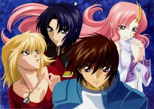 Sunrise (Studio), Mobile Suit Gundam SEED, Lacus Clyne, Athrun Zala, Kira Yamato