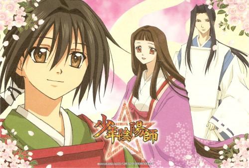 Sakura Asagi, Studio Deen, Shounen Onmyouji, Abe no Seimei, Fujiwara no Akiko