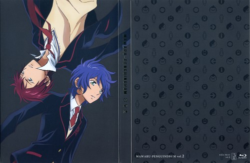 Brains Base, Mawaru Penguindrum, Kanba Takakura, Shouma Takakura, DVD Cover