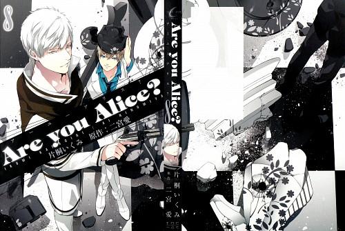 Ikumi Katagiri, Are You Alice, White Knight (Are You Alice), Alice (Are You Alice), Manga Cover