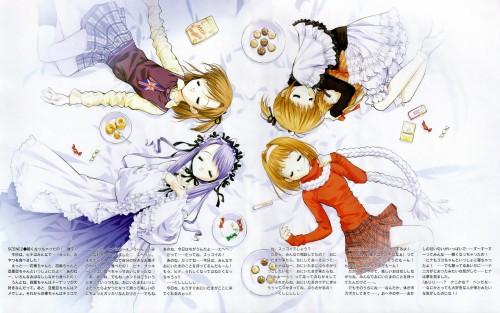 Naoto Tenhiro, Sister Princess, Yotsuba (Sister Princess), Aria (Sister Princess), Kaho