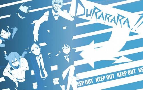 Suzuhito Yasuda, Brains Base, DURARARA!!, Celty Sturluson, Mikado Ryugamine Wallpaper