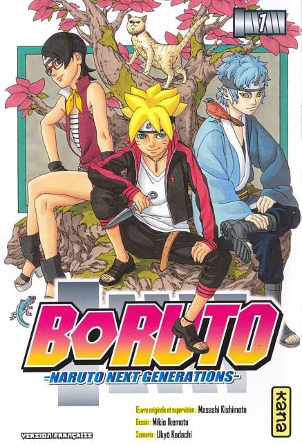Masashi Kishimoto, Naruto, Sarada Uchiha, Bolt Uzumaki, Mitsuki (Naruto)