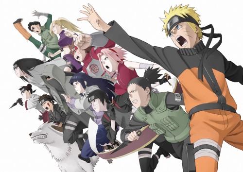 Studio Pierrot, Naruto, Chouji Akimichi, Hinata Hyuuga, Akamaru (Naruto)