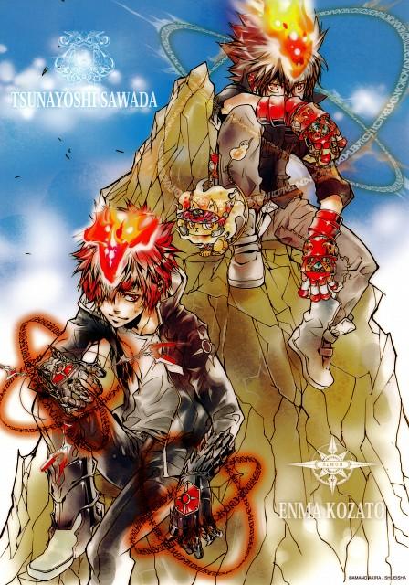 Akira Amano, Artland, Katekyo Hitman Reborn!, Natsu (KHR), Tsunayoshi Sawada