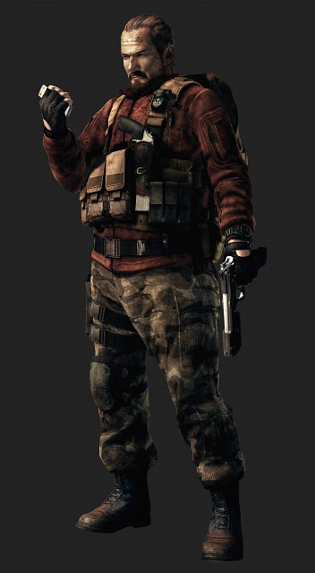 Capcom, Resident Evil: Revelations 2, Barry Burton, Official Digital Art