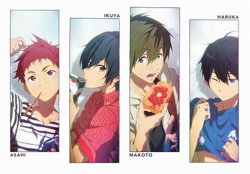 Miho Kitaji, Kyoto Animation, Free!, Asahi Shiina, Makoto Tachibana