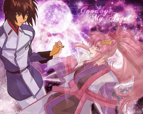 Mobile Suit Gundam SEED Destiny, Kira Yamato, Lacus Clyne Wallpaper