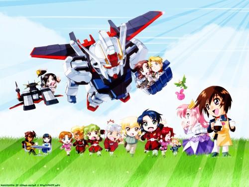 As' Maria, Sunrise (Studio), Mobile Suit Gundam SEED, Yzak Joule, Fllay Allster Wallpaper
