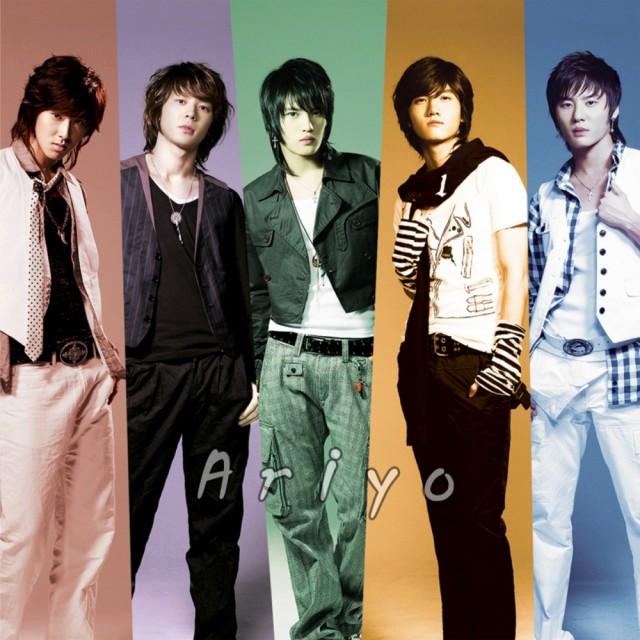 Hero, Max, U-Know, TVXQ, Micky