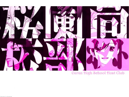 Hatori Bisco, BONES, Ouran High School Host Club, Takashi Morinozuka, Kyoya Ootori Wallpaper