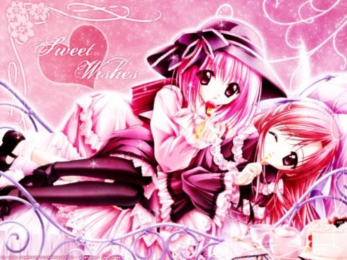 Tinkerbell, Café Little Wish, Merun (Cafe Little Wish), Lily (Cafe Little Wish) Wallpaper
