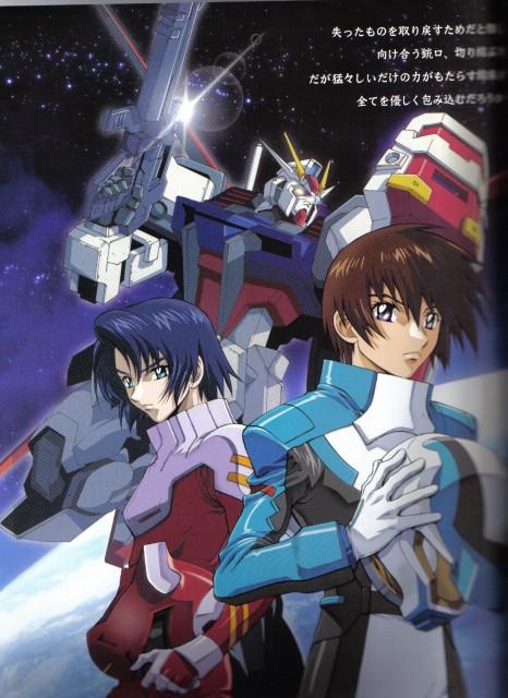 Sunrise (Studio), Mobile Suit Gundam SEED, Kira Yamato, Athrun Zala