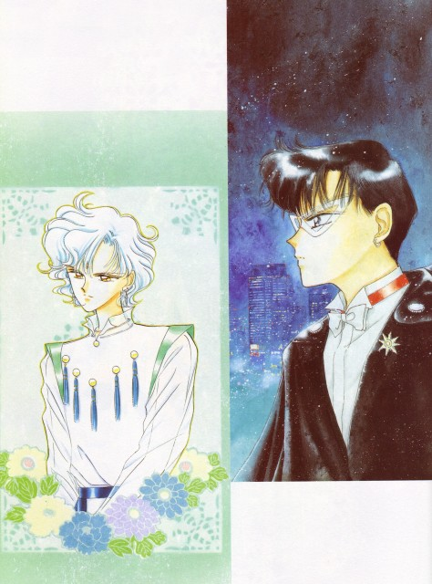 Naoko Takeuchi, Bishoujo Senshi Sailor Moon, BSSM Original Picture Collection Vol. IV, Tuxedo Kamen, Helios