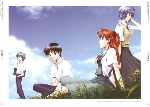 Yoshiyuki Sadamoto, Gainax, Neon Genesis Evangelion, Kaworu Nagisa, Shinji Ikari