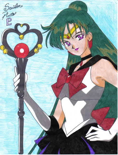 Toei Animation, Bishoujo Senshi Sailor Moon, Sailor Pluto, Member Art