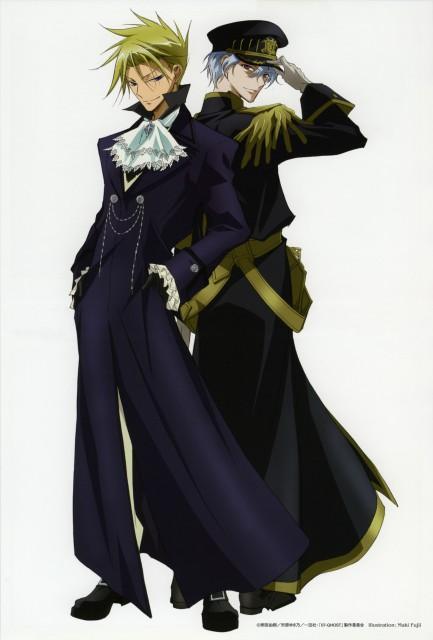 Yuki Amemiya, Yukino Ichihara, Studio DEEN, 07-Ghost, Ayanami (07-Ghost)