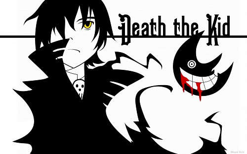 BONES, Soul Eater, Death The Kid, Vector Art Wallpaper