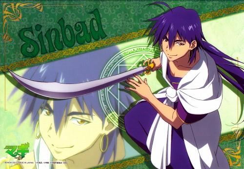 Shinobu Ohtaka, A-1 Pictures, MAGI: The Labyrinth of Magic, Sinbad, Pencil Board