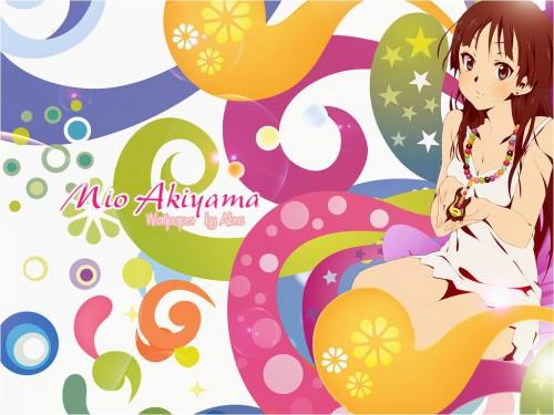 Kakifly, Kyoto Animation, K-On!, Mio Akiyama Wallpaper