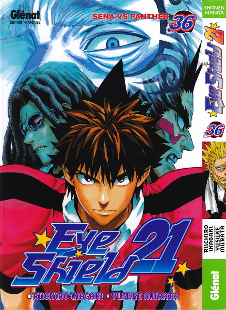 Studio Gallop, Eyeshield 21, Sena Kobayakawa, Manga Cover