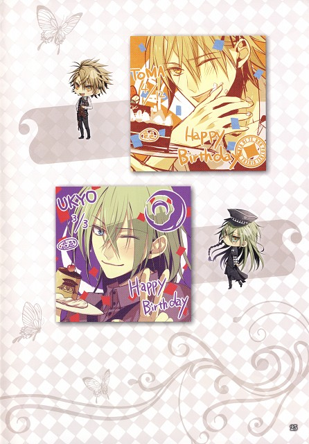 Mai Hanamura, Idea Factory, AMNESIA Crowd Official Visual Fan Book, AMNESIA Art Works, AMNESIA