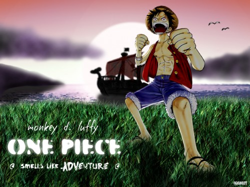 Eiichiro Oda, Toei Animation, One Piece, Going Merry, Monkey D. Luffy Wallpaper